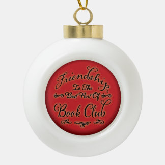 Book Club Friendship Ornament