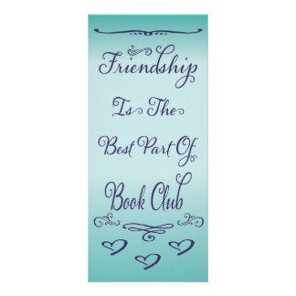 Book Club - Friendship Custom Rack Cards