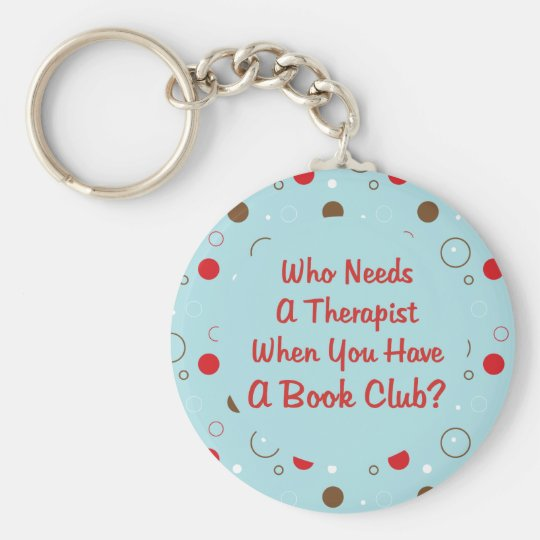 book club fun who needs a therapist key