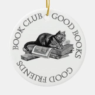 Book Club - Good Books - Good Friends Christmas Ornament