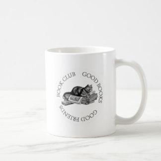 Book Club - Good Books - Good Friends With Cat Mugs
