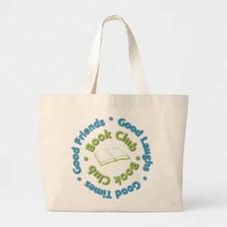 book club good friends jumbo tote bag