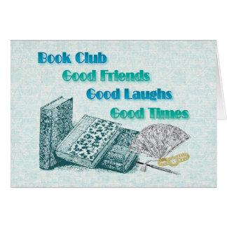 book club greeting card