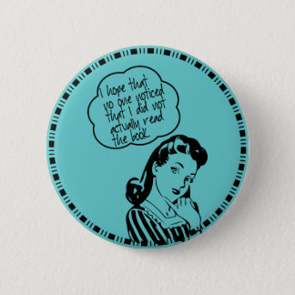 Book Club - I Hope - Retro 6 Cm Round Badge