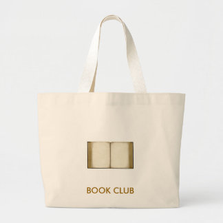 Book Club Large Tote Bag