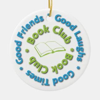 Book Club Ornament