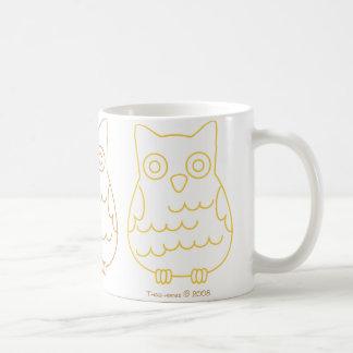 Book Club Owls Coffee Mug