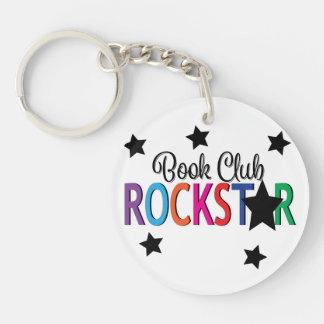 Book Club Rock Star Keychain