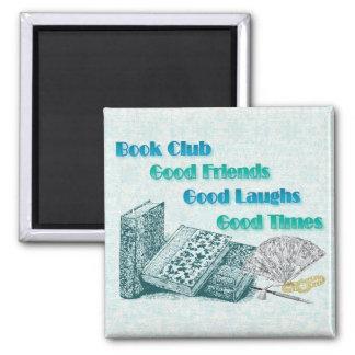 book club square magnet