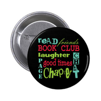 Book Club Subway Design by Artinspired 6 Cm Round Badge