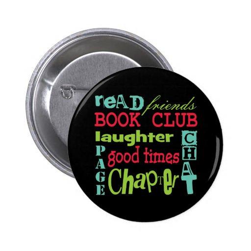 Book Club Subway Design by Artinspired Button