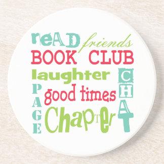 Book Club Subway Design by Artinspired Coaster