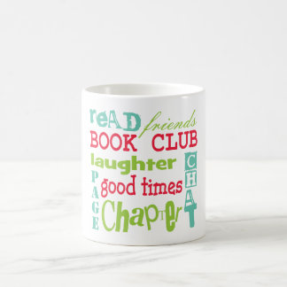 Book Club Subway Design by Artinspired Coffee Mug