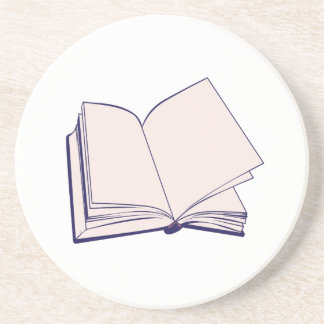 Book Drink Coaster