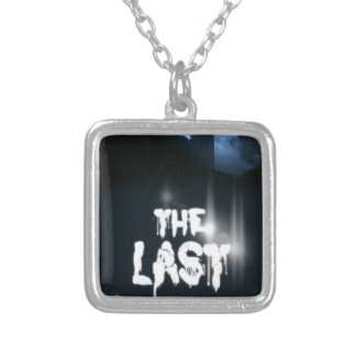 """Book cover of """"The Last"""" by Joel Puga Square Pendant Necklace"""