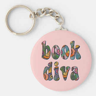 Book Diva 2 Key Chains