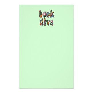 Book Diva 2 Stationery Design
