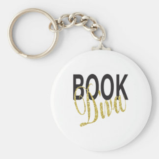 Book Diva Key Ring