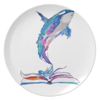 book dream plate