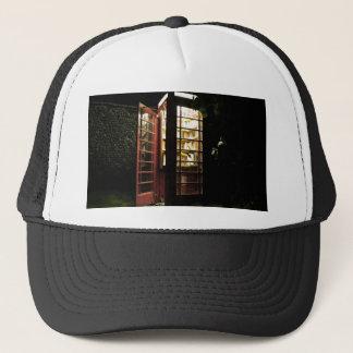 Book exchange trucker hat