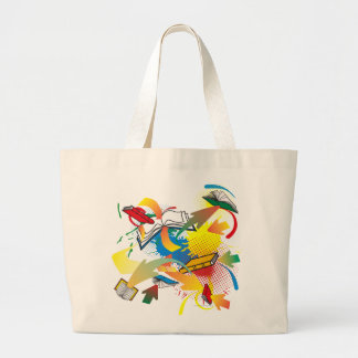 Book Explosion Tote Bag