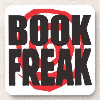 Book Freak Beverage Coasters