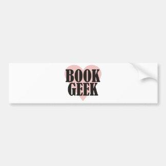 Book Geek Bumper Sticker