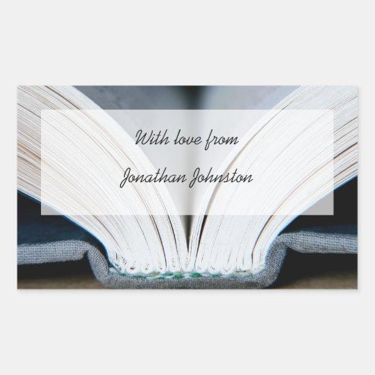Book Gift Sticker