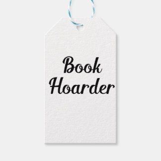 Book Hoarder Gift Tags