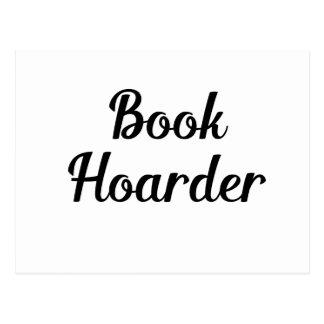 Book Hoarder Postcard