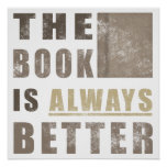 Book Humour Gift Idea Posters