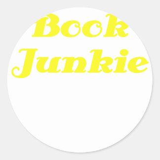 Book Junkie Sticker