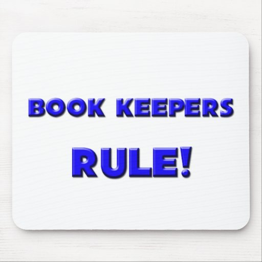 Book Keepers Rule! Mouse Pad