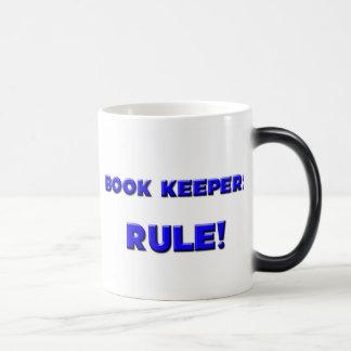 Book Keepers Rule! Morphing Mug