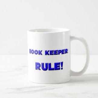 Book Keepers Rule! Basic White Mug