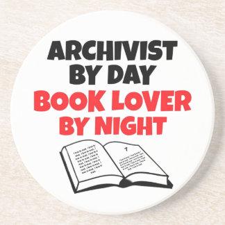 Book Lover Archivist Coaster