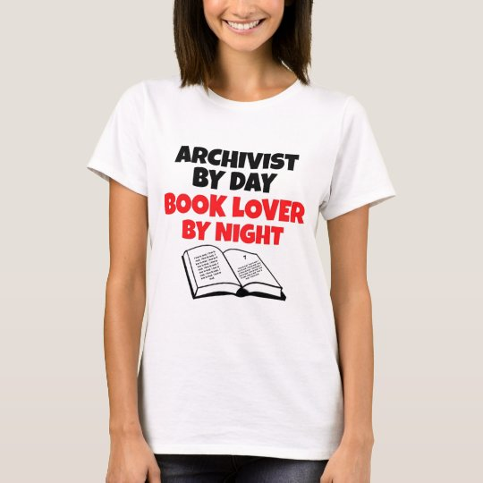 Book Lover Archivist T-Shirt