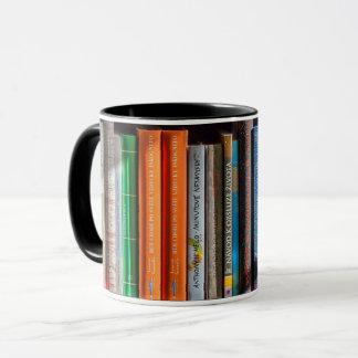 Book Lover Bookshelf Mug