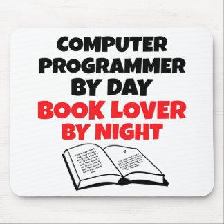 Book Lover Computer Programmer Mouse Mat