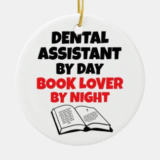 Book Lover Dental Assistant Christmas Ornament