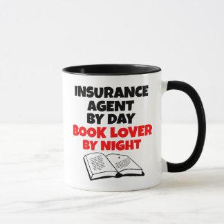 Book Lover Insurance Agent Mug