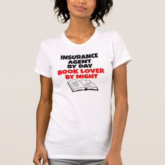 Book Lover Insurance Agent T-Shirt