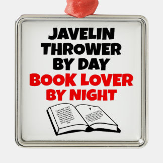 Book Lover Javelin Thrower Christmas Ornament
