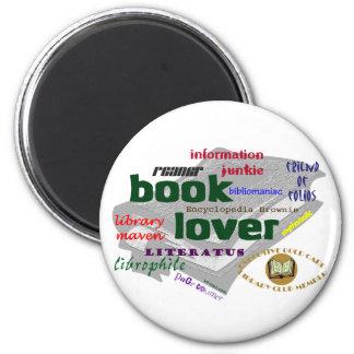 Book Lover Fridge Magnet