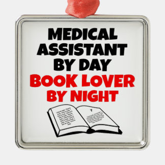 Book Lover Medical Assistant Christmas Ornament