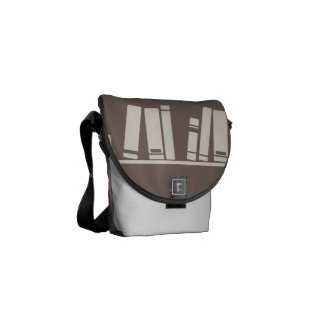 book lover! Messenger Bag