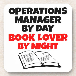 Book Lover Operations Manager Coaster