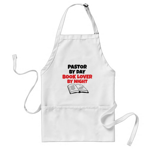 Book Lover Pastor Aprons