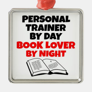 Book Lover Personal Trainer Christmas Ornament