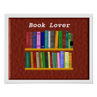 Book Lover Posters